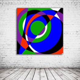 Wall Art Circle Abstract