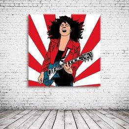 Marc Bolan T-Rex Pop Art