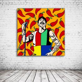 Anthony Kiedis Pop Art