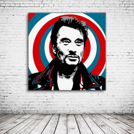 Johnny Hallyday Pop Art