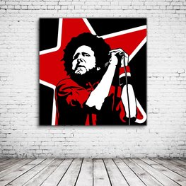 Pop Art Zack De La Rocha