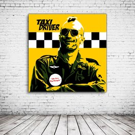 Pop Art Taxi Driver Robert De Niro