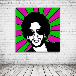 Lenny Kravitz Pop Art