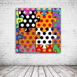 Pop Art Jigsaw United Colors