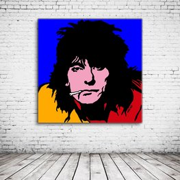 Pop Art Ron Wood