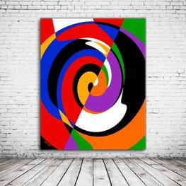 Wall Art Rotation Abstract
