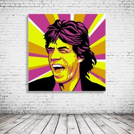 Pop Art  Mick Jagger