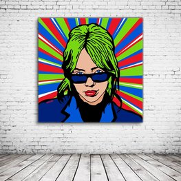 Pop Art Billie Eilish