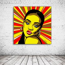 Pop Art Rihanna
