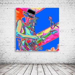 Pop Art Stevie Ray Vaughan