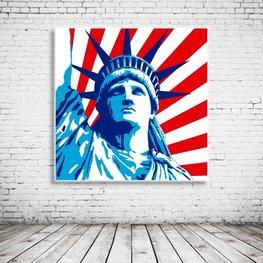 Pop Art Statue Of Liberty
