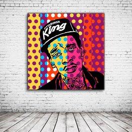 Pop Art Wiz Khalifa