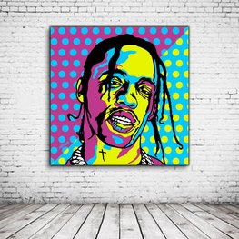 Pop Art Travis Scott