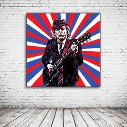 Pop Art Angus Young