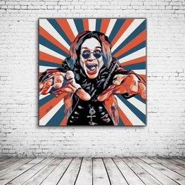 Pop Art Ozzy Osbourne