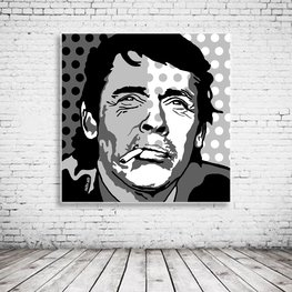 Pop Art Jacques Brel