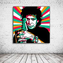 Pop Art Keith Richards Ltd Edition