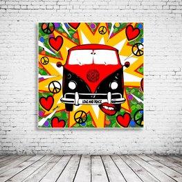Pop Art VW Van Volkswagen