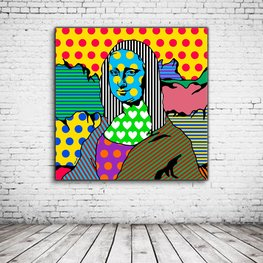 Pop Art Mona Lisa