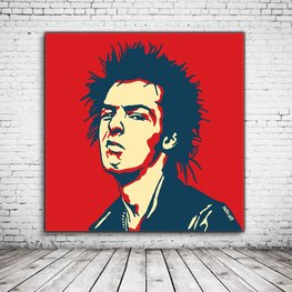 Pop Art Sid Vicious