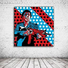 Pop Art Scarface Al Pacino aka Tony Montana
