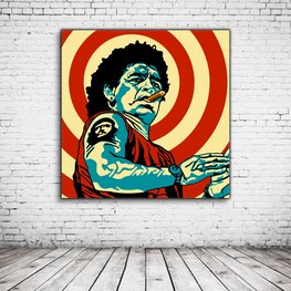 Pop Art Diego Maradonna