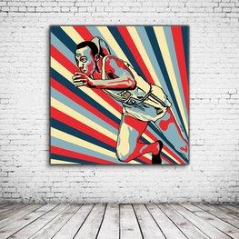 Pop Art Jesse Owens