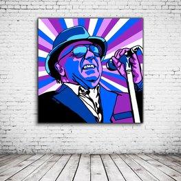 """Pop Art Van Morrison """"Van The Man"""""""