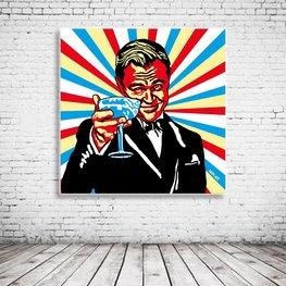 Pop Art Wolf Of Wallstreet
