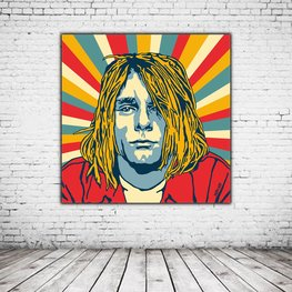 Pop Art Kurt Cobain