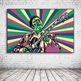Pop Art BB King