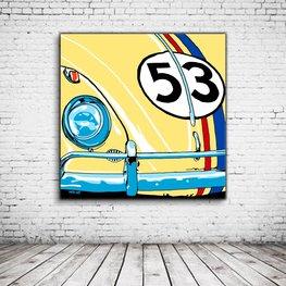 Pop Art VW Herbie Love Bug 53