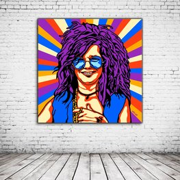 Pop Art Janis Joplin
