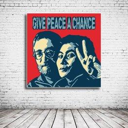 Pop Art John Lennon & Yoko Ono