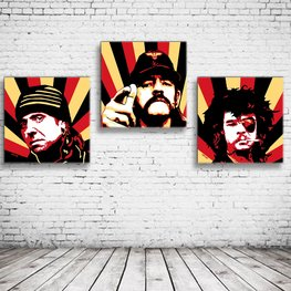 Motorhead Pop Art x3
