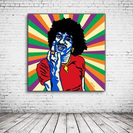 Phil Lynott Pop Art