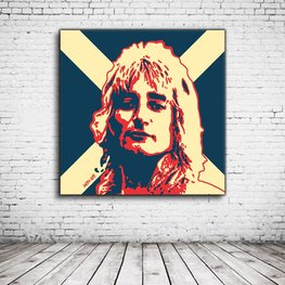 Pop Art Rod Stewart