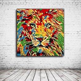 Pop Art Leeuw