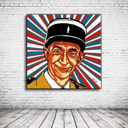Pop Art Louis De Funes