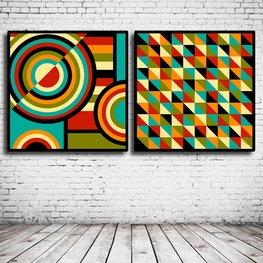 Duo Modern Art N° 106 & 107