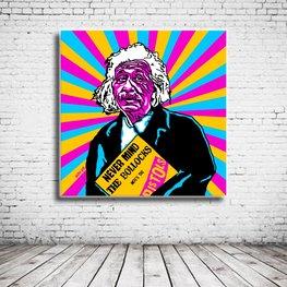 Pop Art Albert Einstein