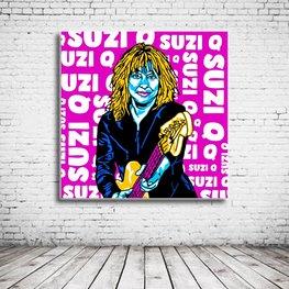 Pop Art Suzi Quatro