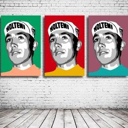 Eddy Merckx Triptych