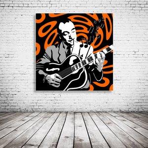 Django Reinhardt Pop Art
