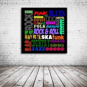 Pop Art Music Styles