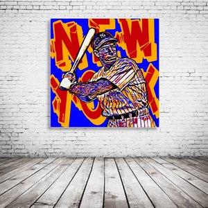Joe Dimaggio Pop Art