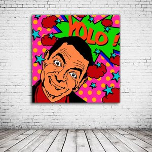 Mister Bean Yolo Pop Art