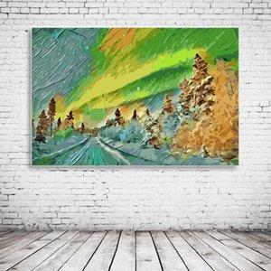 Aurora Borealis Art