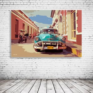 Cuba Street View Pop Art