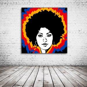 Pam Grier Pop Art